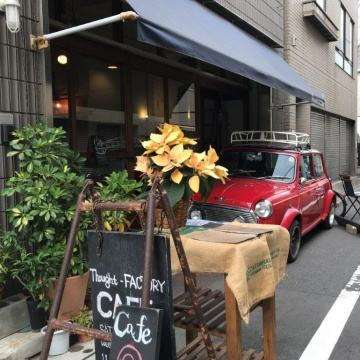 Thought-FACTORY cafe 浅草
